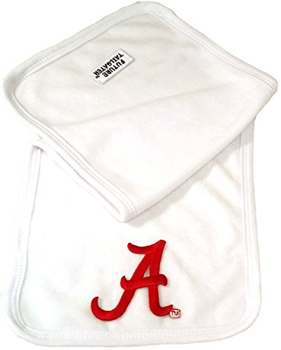 Future Tailgater Alabama Crimson Tide Baby 2 Ply Terry Burp Cloth by Future Tailgater
