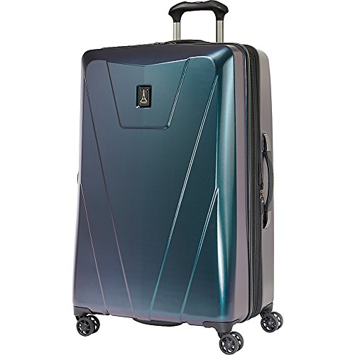 Travelpro Maxlite 4 29'' Hardside Spinner, Black/Green by Travelpro