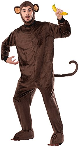 Forum Novelties Monkey Mascot Costume, Brown, Standard