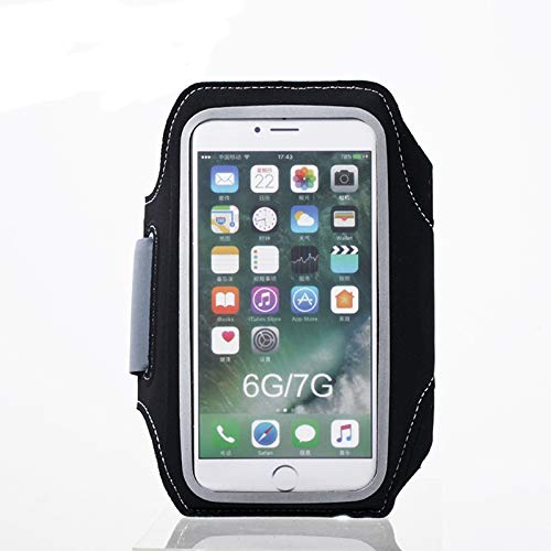 "Beydodo Arm Band with Pocket Cell Phone Cases Universal 5.5 Inch Compatible for Phone XS/Max/XR/XS/X/8/7/6S/6 Plus/S9/S9 Plus/S8/S8 Plus/Note 8 6 5 4 up to 6.0"" Workout Bag Backpack"