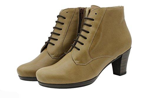Piesanto En Cuir Chaussure Amples Femme Naturnuez Confortables Bottines Confort 9801 wf7UCnwq