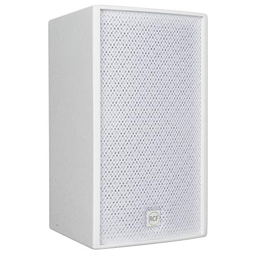 (RCF M 501-W 5.5-inch Two Way Passive Speaker, White)