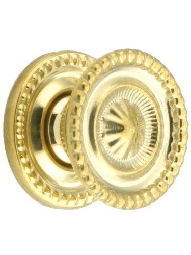 Small Federal Style Knob & Backplate - 1
