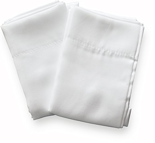 Toddler Pillowcase by Dreamtown Kids 2-Pack WHITE