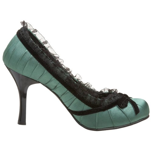 420 Green Forrest Funtasma M by 10 Pump Dainty Pleaser Women's pIr0n4AWIx