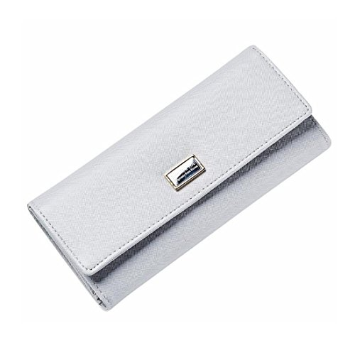 In Lindanig Fibbia Di Forma Con Gray color Portafoglio Da Pochette Donna Pelle A Black Borsa HAqHrP8