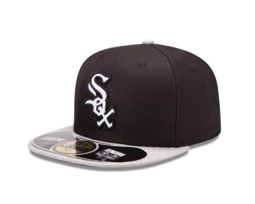 White 59fifty Cap (MLB Chicago White Sox Diamond Era 59Fifty Baseball Cap,Chicago White Sox,7.75)