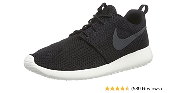 low cost nike roshe run triangle mens black yellow 9aa3a 83a45