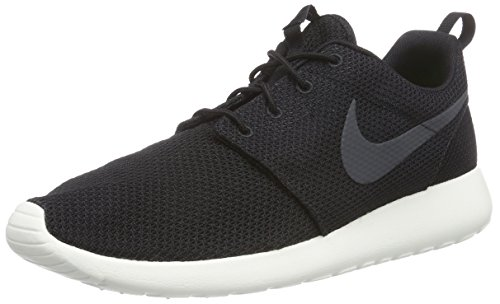 Nike Mens Rosherun Black/Anthracite/Sail Running Shoe 10.5 Men US