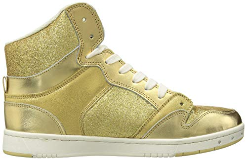 Pastry Pie Shoe High amp; Top Gold Glitter for Dance Sneaker Glam Adults rr8aqU