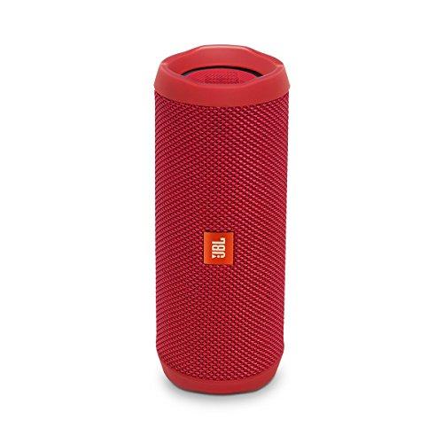 JBL Flip 4 Bluetooth Portable Stereo Speaker – Red