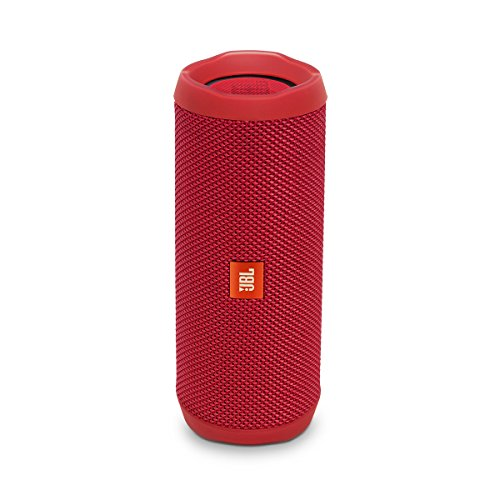JBL Flip 4 Mono 16W Cilindro Rojo - Bocinas portátiles (2.0 channels, 4 cm, 80 Db, 16 W, 70 - 20000 Hz, Inalámbrico)