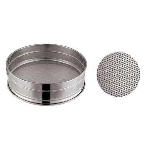 Paderno World Cuisine 11-7/8-Inch Stainless-Steel Fine Mesh Flour Sieve