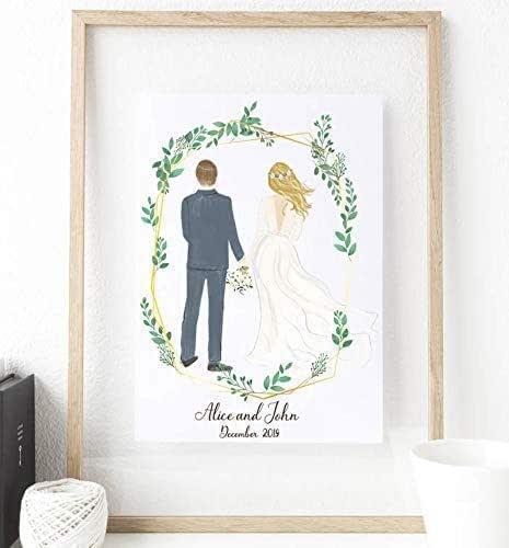 9x12 CUSTOM COUPLE PORTRAIT portrait drawingfather son portraitpencil portraitsketch portraitpersonalized cardFather/'s Day Gift