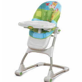 Multiple seat positions and height adjustments let this high chair grow with baby.  sc 1 st  Amazon.com & Amazon.com : Fisher-Price Discover u0027n Grow EZ Clean High Chair ...