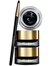 L'Oréal Paris Eyeliner in Gel Super Liner Gel Intenza, Texture in Gel e Tratto Spesso per un Risultato Ottimale, Nero