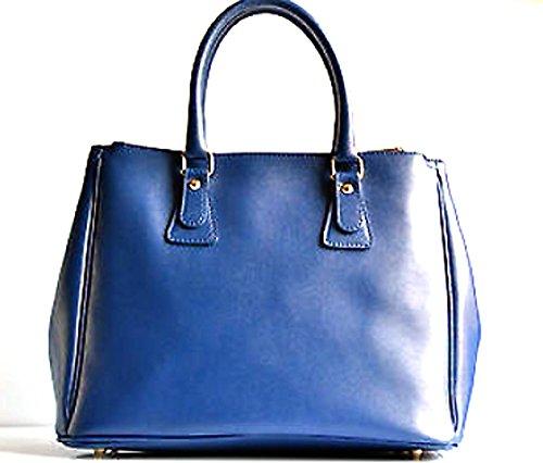 pour à foncé Superflybags bleu femme main Sac PHTwq7a