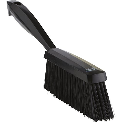 Vikan 45879 Bench Brush, Polypropylene, Polyester Soft Bristle, 14