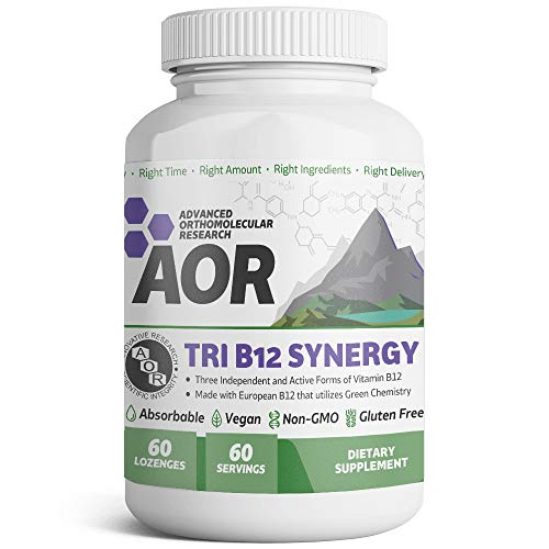 Tri-B12 Synergy, lozenges, 60 Count