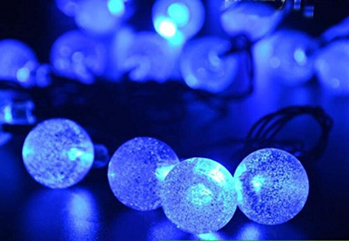 E & m solare led pioggia di meteore colorate luci flash di luci