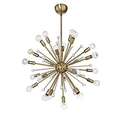 Savoy House Galea 24-Light Chandelier in Classic Bronze 7-6099-24-44