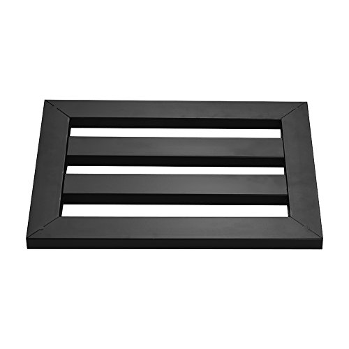 Muslady Guitar Pedalboard Effect Pedal Board Holder Stompbox Pasting Plate by Muslady