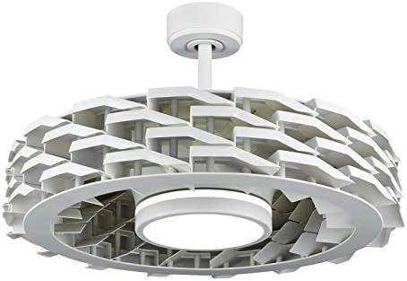 Sulion 072232 Ness Ventilador de techo blanco sin aspas con ...