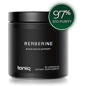 Amazon.com: Berberine Plus 1200 mg por porción – 120 ...