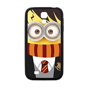Cute Minion Black Samsung Galaxy S4 case