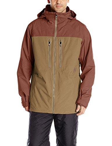 Burton Men's AK 2L Swash Jacket, Matador/Otter, Large