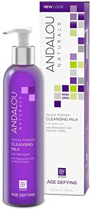 Andalou Naturals Apricot Probiotic Cleansing Milk - 6 oz