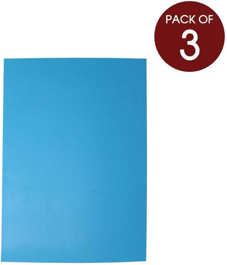 Artway Polymerplatten f/ür Linoldruck Gr/ö/ße A4 und A3 A2-3 St/ück Blau