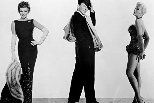 Frank Sinatra and Rita Hayworth and Marilyn Monroe in Pal Joey Sassy Poses in Costume 24x18 Poster