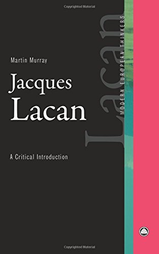 Download Jacques Lacan: A Critical Introduction (Modern European Thinkers) pdf epub