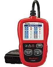 Autel AL319-VCMODELL Autolink AL319 Herramienta de diagnóstico OBDII/OBD2/OBD/CAN Lectura/borrado de códigos de Error y comprobación del Estado de Control de emisiones