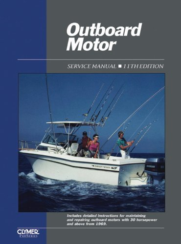 Manual Outboard Service Volume Motor (Outboard Motor Service Vol 2 Ed 11 (Outboard Motor Service Manual Vol 2) by Penton Staff (2000-05-24))
