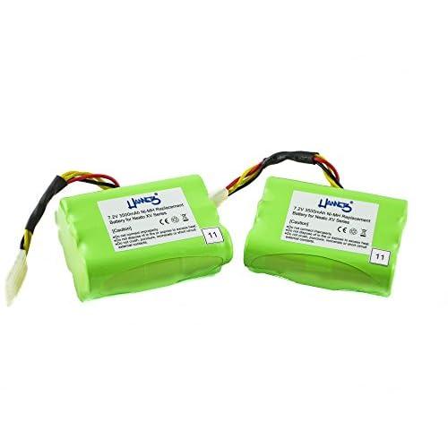 2 batteries avec 3500 mAh pour modèle neato XV - signature pro de Hannets®