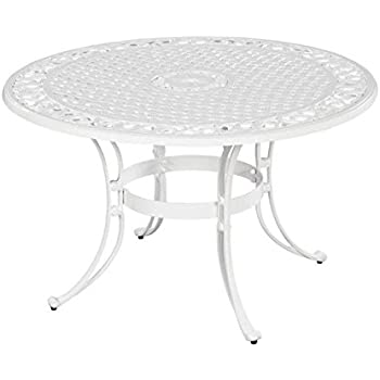 wicker outdoor dining table and chairs white furniture outside tables home styles round finish inch