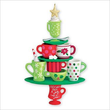 Coffee Lovers Tree 2007 Hallmark Keepsake Ornament