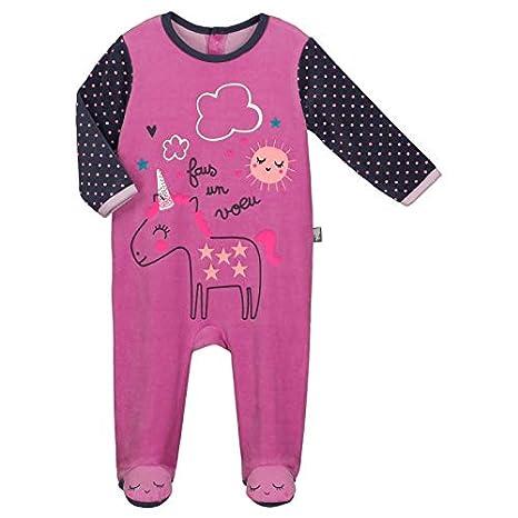 5a8bc41cb8de6 Pyjama bébé velours Licorne - Taille - 24 mois (92 cm)  Amazon.fr ...