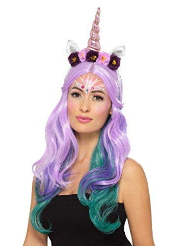 Mythical Creatures Halloween Costumes.Amazon Com Ladies Unicorn Mythical Creature Make Up Face