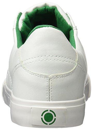 JIM  Talentum,  Herren Sneakers Blanco (Blanco / Verde)