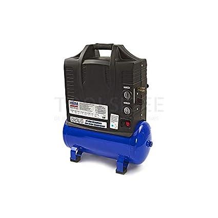 HBM 20 litros portátil silencioso Compresor