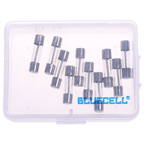 pack of 10 pcs Slow-Blow Fuse 3.15A 250V Glass Fuses 20 x 5mm