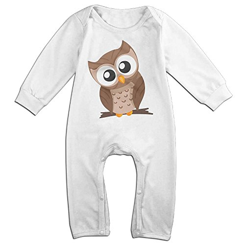 Spanish National Costume (Orz Infants Beautiful Owl Long Sleeve Bodysuit Baby Onesie Baby Climbing Clothes Romper For 0-24 Months White 24 Months)