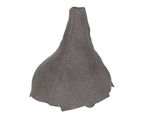 For Mitsubishi Colt Lancer Mirage 1997-2003 Shift Boot Grey Genuine Suede Colt Suede Boot