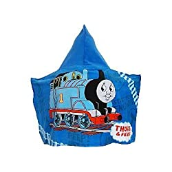 Thomas and Friends Kids Hooded Bath Pool or Beach Towel