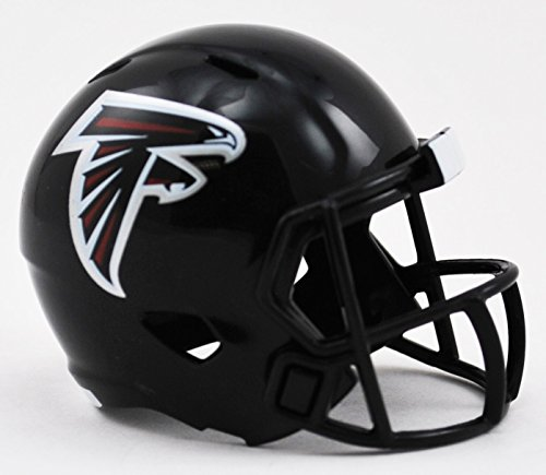 (Atlanta Falcons NFL Riddell Speed Pocket PRO Micro/Pocket-Size/Mini Football Helmet)