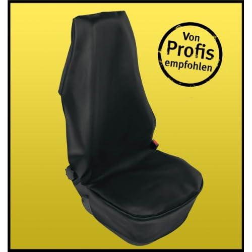 Housse de protection en optique de cuir, siège de voiture super- de meilleure qualité, testé par un garage, universel pour chaque voiture, imperméable, noir, housse de siège de voiture et go 70%OFF