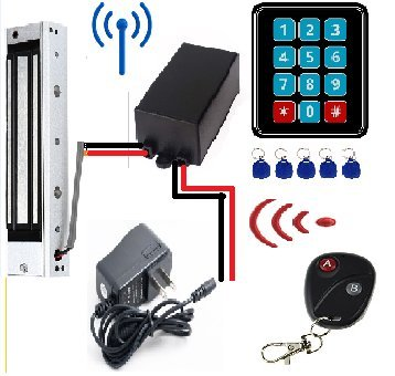 Door Access Control System Controller ABS Case RFID Reader(Single) - 5